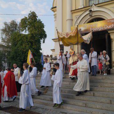 Uroczystość Św. Jakuba Ap w naszej parafii.