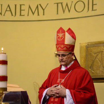 Gościliśmy Ks. Bpa Andrzeja Przybylskiego