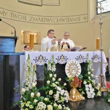 Uroczystość Bożego Ciała w naszej parafii