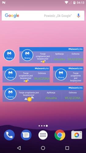 Aplikacja - Malwarebytes 04