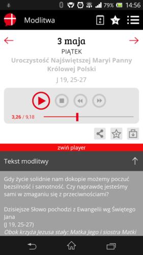Aplikacja - Modlitwa w drodze 02