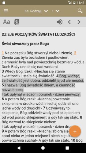 Aplikacja - Pismo Swiete PL 04