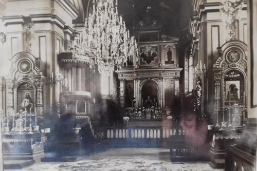 kosciol w 1945r.