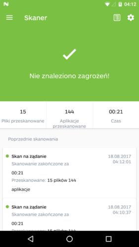 Aplikacja - Malwarebytes 03