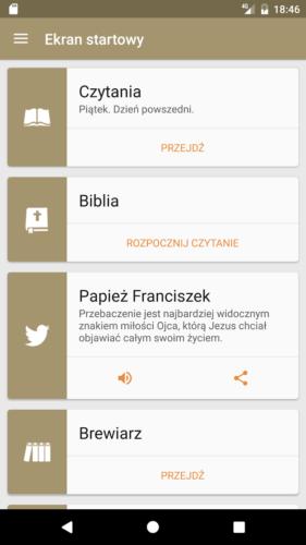 Aplikacja - Pismo Swiete PL 02