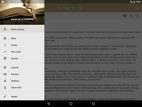 Aplikacja - Pismo Swiete PL 03